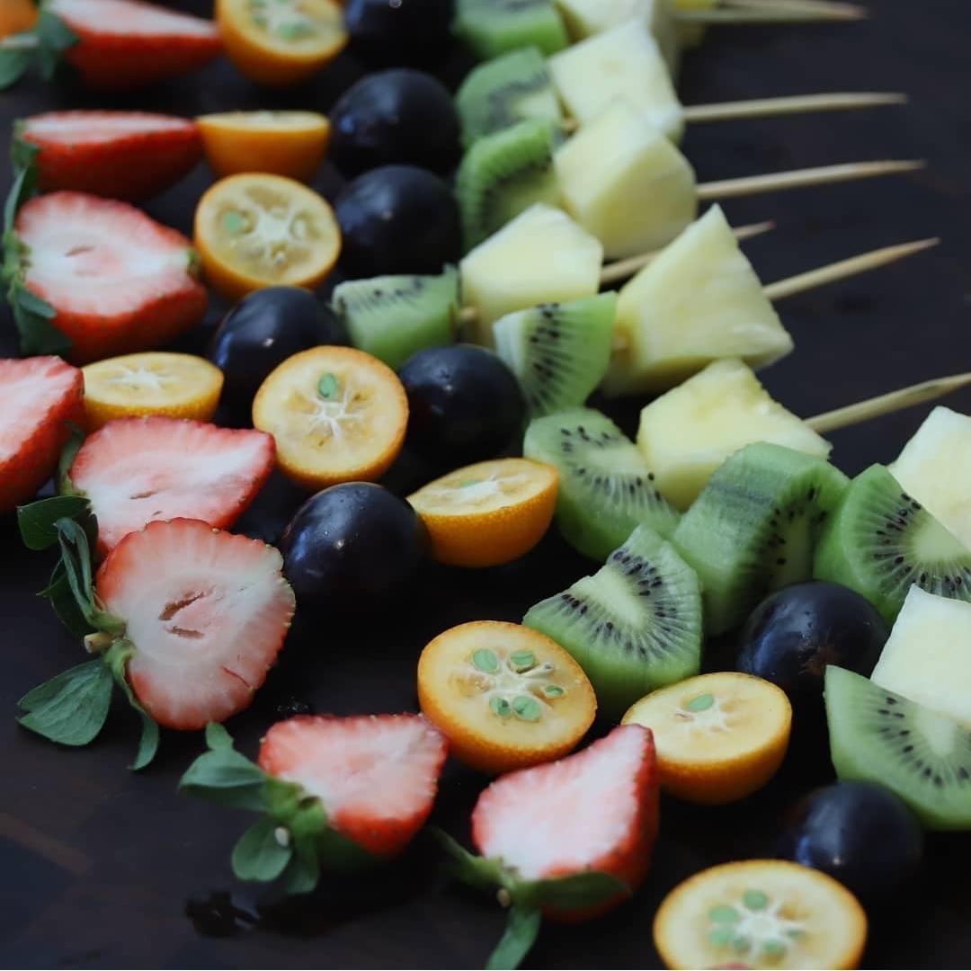 фрукты новый год фуршет
