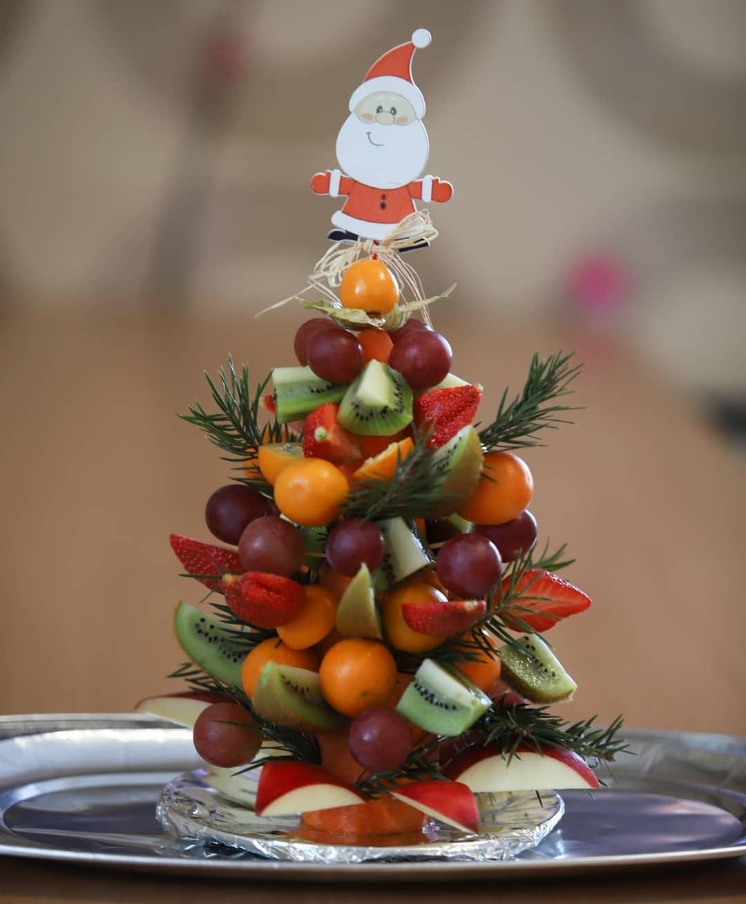 фрукты новый год